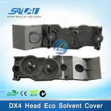on sales! roland printer dx4 print head cover for roland SJ/FJ/XC/VP/SP-540/640/740 eco solvent printer (included seal rubber)