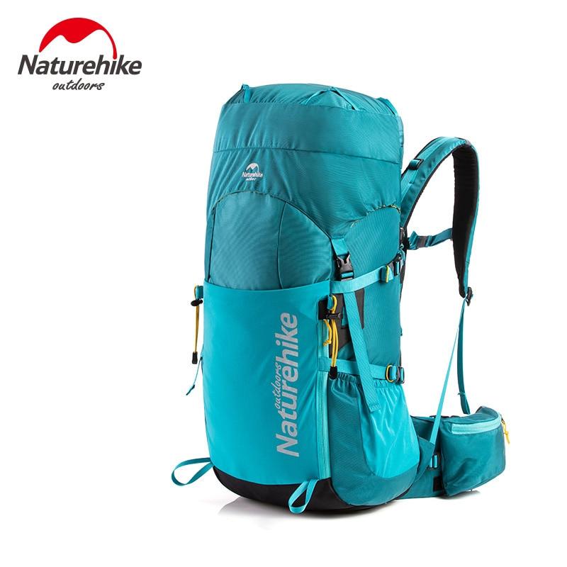55L Outdoor Rucksack Backpack Camping Hiking Trekking Bag Lightweight Waterproof