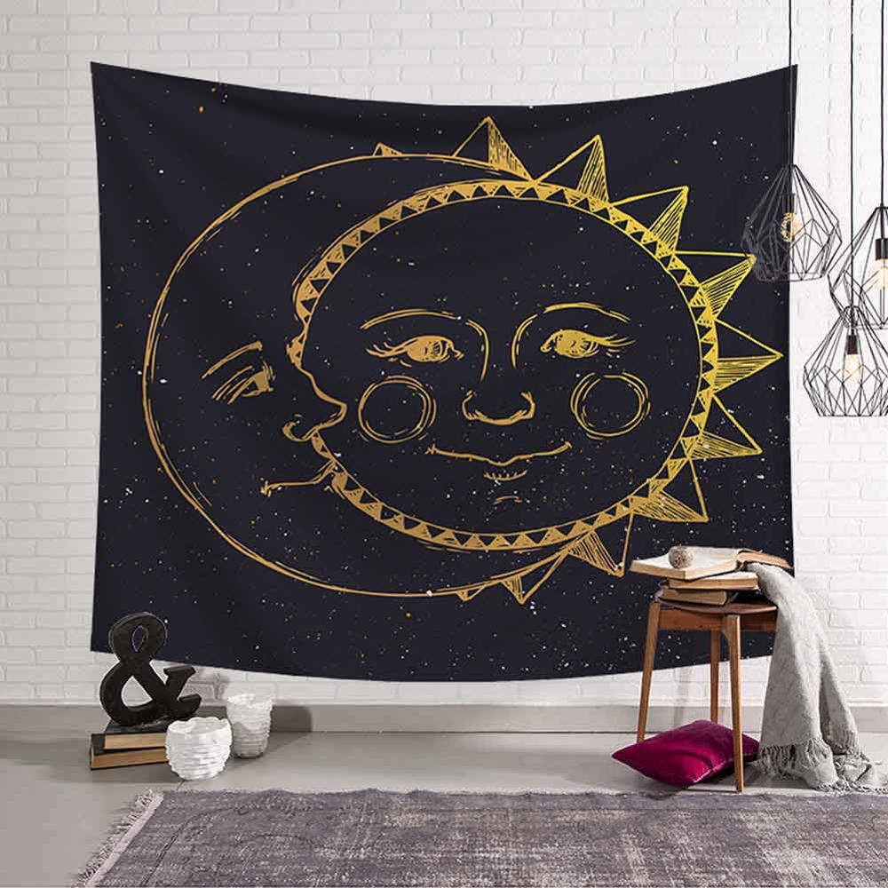 GT8076-8 Sun and Moon Tapestry