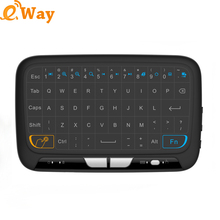 H18 Mini Wireless Keyboard 2.4 G Portable Keyboard With Touchpad Mouse for Windows /Android Smart TV box /PAD/Linux Windows(China)