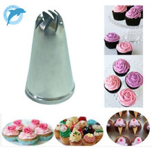 LINSBAYWU Stainless Steel Drop Flower Tips Cake Nozzle Cupcake Sugar Crafting Icing Piping Nozzles Pastry Tool HF312(China)