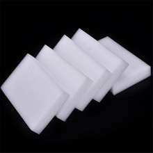 100 pcs/lot Wholesale White Magic Sponge Eraser Melamine Cleaner Multi-functional Cleaning Kitchen Sponge 100x60x10mm