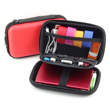 Mobile Kit High Capacity Storage Bag Digital Gadget Devices USB Cable Data Earphone Pen Travel Insert Portable Organizer Case(China)