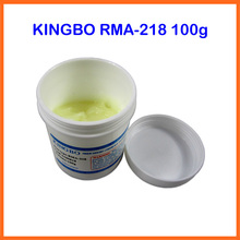 Free Ship 100g Lead Free No Clean Solder Paste Flux Original KINGBO RMA-218 for BGA Reballing Repair(China)