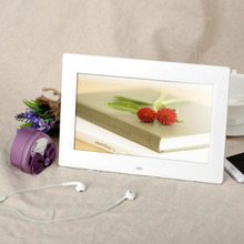 "Picture Frame 10.1"" HD TFT-LCD 1024*600 Digital Photo Frame Alarm Clock MP3 MP4 Movie Player with Remote Desktop"