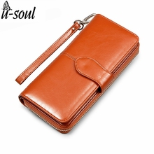 Luxurious Long Design Wallets Fashion Style Female Purse 2017 New Wallet Women Famous Brands Lady Purse Wallet PU Leather C2052K