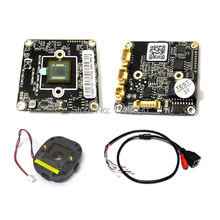 "IPC 960P 1280x960 1/3"" CMOS AR0130 PCB board Hi3518 CCTV board IP camera module 38*38mm Size PCB Board + IR Cut"
