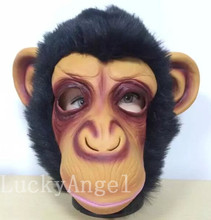 2016 Hot Sale Diamond big ears monkey mask gorilla costumes to the West Monkey King Sun Wukong Dragon Ball caps