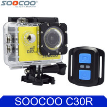 SOOCOO C30R 4K Wifi Action Camera 1080P Full HD Gyro Wireless Remote Control Waterproof Bicycle Helmet Mini Outdoor Sport DV Cam(China)