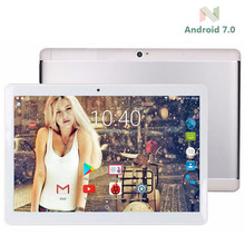 2017 Newest 10 inch Tablet pc Android 7.0 4GB RAM 64GB ROM Octa Core 8 Cores Dual Cameras 5.0MP 1280*800 IPS GPS Tablets+Gifts(China)