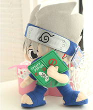 32cm FS Naruto Kakashi Hatake Plush Doll Toy Figure Japanese Anime Free Shipping