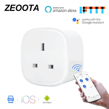 WiFi Smart Power Plug Adapter Socket Timer Socket App Voice Remote Control Homekit Work Alexa Google Assistant IFTTT