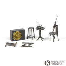 OrangeHobby Meng SPS036 1/35 Middle Eastern Street Set Assembly figure Accessories Model Building Kits