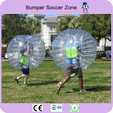 Free Shipping 1.5m Inflatable Football Bubble Ball Bumper Ball Body Zorbing Bubble Soccer Ball Outdoor Games For Adults(China)