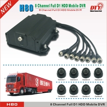 Anti Vibration 8-channel car dvr,3G SIM card bus dvr built in GPS,H80-3G(China)