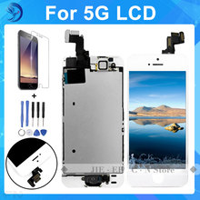 AAA Quality For iPhone 5  lcd Screen with Touch Screen Digitizer Assembly complete Full Set +Home Button+Front Camera