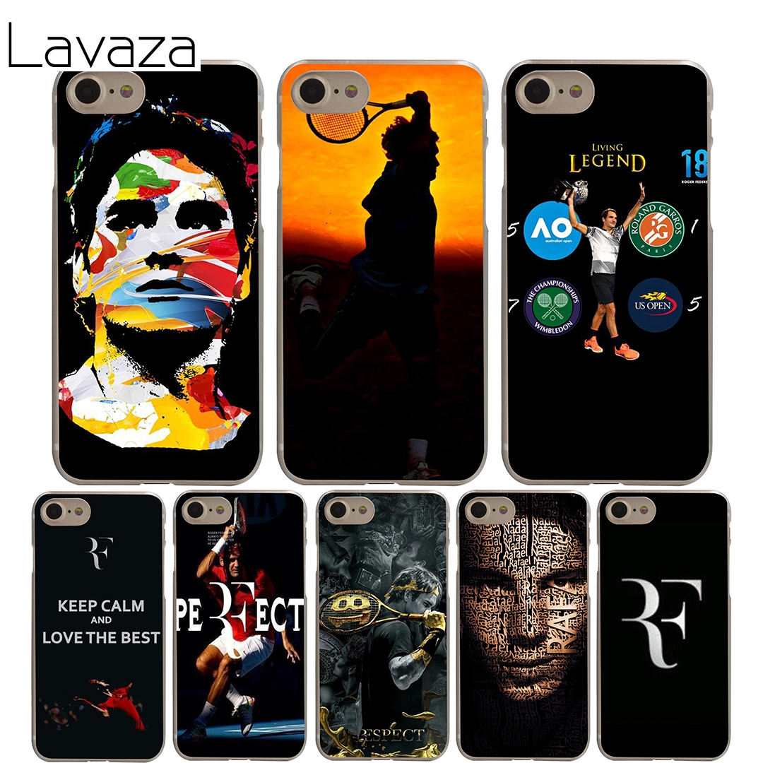Lavaza Tennis star roger federer Cover Case iPhone X 10 8 7 6 6S plus Cases Apple 5 5S 5C SE 4 4S Coque Shell
