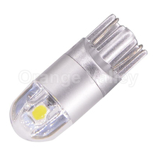 10PCS Hot Products T10 LED 194 501 W5W 2 SMD 3030 Constant current Car Auto Wedge Lights Interior lamp DC 12V 24V Lens