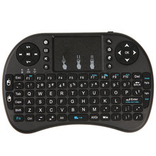 Mini Wireless Keyboard 2.4G slim keyboard Touchpad Air Mouse Fly Mouse Remote Control for tablet for Android for Windows(China)
