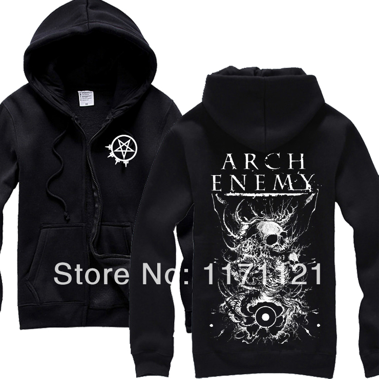 ROCK HARZ 2012 FEST ARTIST AMON AMARTH SEPULTURA ARCH ENEMY RARE HOODIE(China (Mainland))
