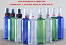 wholesale 3 color,100ml,10pcs/lot, spray bottle,perfume spray bottle,package bottle,refillable bottle,free shipping