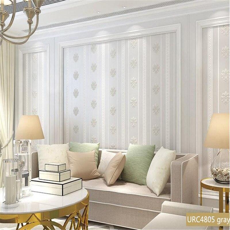 3D Embossed Wallpaper for Walls 3D Solid Non Woven Wallpaper Roll Modern Living Room Decor Wallpaper Bedroom WallPaper Desktop<br>