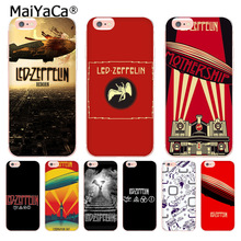Buy MaiYaCa Led Zeppelin soft tpu phone accessories case cover iPhone X 6 6s 7 7plus 8 8Plus 4 4S 5 5S 5C case coque for $1.35 in AliExpress store