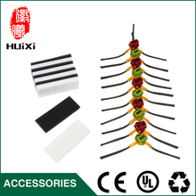 HEPA Filter & Red and Green Side Brush High Quality for Home Cleaner Vacuum Cleaner Accessories for CEN630 CEN530 CEN650 CEN82