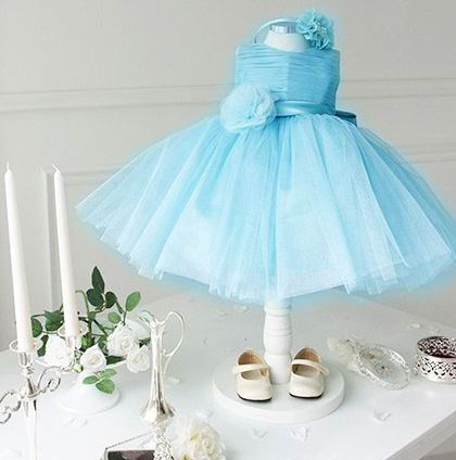 0-5 Year Girls Sweet Dress Baby Flower Girls Dresses for Weddings & Birthday Princess Party Dress for Kids Girls Formal Costumes(China)