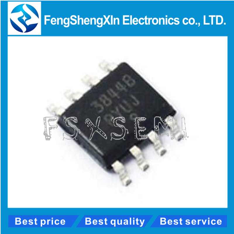 10PCS UC3844BD UC3844B IC REG CTRLR BST FLYBK ISO 8SOIC IC New Best Price Qualit