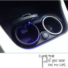new style car Ash Tray Ashtray Storage Cup With for honda fit volvo renault logan volvo v70 vw honda civic renault Accessories(China)