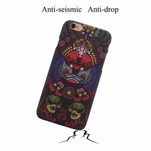 Chinese style Beijing opera cell phone 5 6 Plus case Actress Avatar Chinese Art Phone case For iphone 6s case 4.7 inch(China)