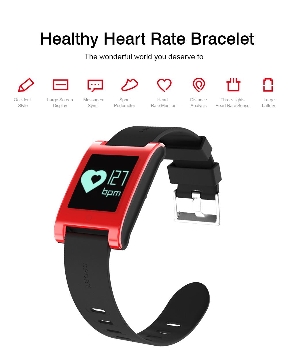 FREZEN Smart Bracelet DM68 Smart Band Fitness Sleep Activity Tracker Blood Pressure Oxygen Heart Rate Tracker For Android IOS 2