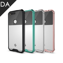 For Google Pixel XL Case Ultra Clear Anti Knock TPU Case For HTC Pixel 5.0 Transparent Mobile Phone Air Hybrid Back Cover Fundas(China)