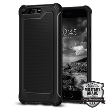"5.1"" Original Huawei P10 Rugged Armor Extra Case Heavy Duty Protective Armor Flexible Rubber Silicone Case for Huawei P10(China)"