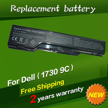 JIGU 9 cells 6600mah Replacement Laptop Battery For Dell XPS M1730 laptop 312-0680 HG307 WG317 OEM Laptop Battery Li-ion Battery