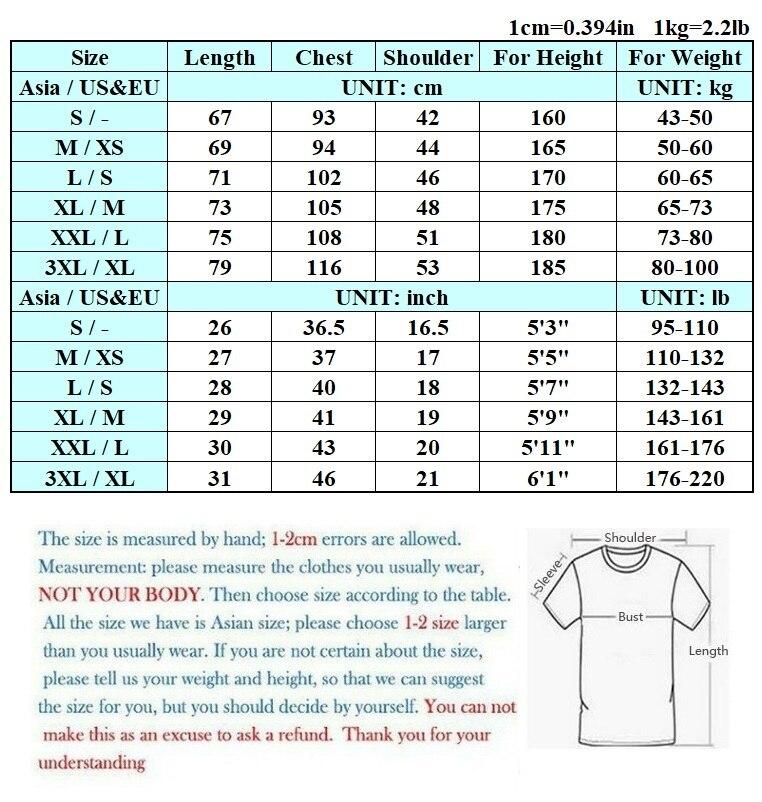 size chart 2T