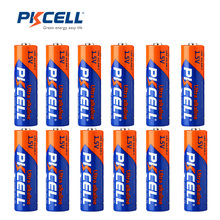 12 x AA Battery 1.5V LR6 AA Alkaline Dry Batteries 2A AM3 Baterias Bateria Single Use Battery in bulk for toys remote contorl(China)