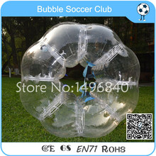 Free Shipping TPU Bubble Soccer Ball Giant Human Football Bubble Soccer Inflatable Ball Suit(China)