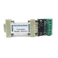 Serial RS232 to RS485/RS422 communication data converter adapter