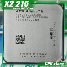 AMD Athlon II X2 215 CPU Processor (2.7Ghz/ 1M /2000GHz) Socket am3 am2+ free shipping 938 pin, there are, sell X2 220 CPU(China)