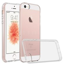 Ultra Thin Soft TPU Gel Transparent case for iPhone 5S case For iPhone 5 SE Crystal Clear Silicon Cover For IPhone 5 case 5C
