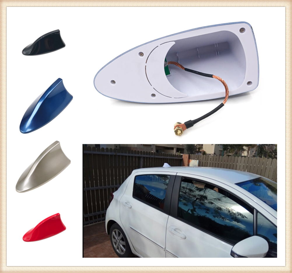 High quality car styling shark fin radio signal roof antenna auto parts for Mercedes Benz Generation GLE63 GLE450 C450 C350 A45