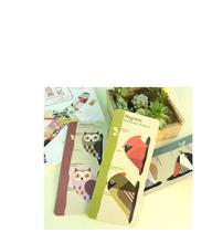 8pcs/lot  8 styles magnetic bookmark ball pen   Bird bookmark    Bird ballpen