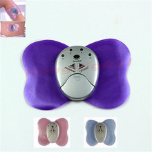 Mini Electronic Body Muscle Butterfly Massager Slimming Vibration Fitness New 24982