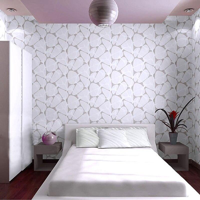 Euroart Elegant Nest Water Cube Glitter 3D Flocking Non-Woven Wallpaper Modern Living Room Bedroom Background Wallpaper Roll<br>