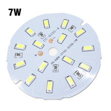 30pcs Needn't Driver 7W SMD5730 Aluminum Lamp Plate DC12V Directly LED PCB White / Warm White Driverless Light Source