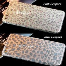 Bling Glitter Phone Back Sticker Film For iPhone 7 Plus Full Body Shinny Sparking Decal Skin Sticker Wrap Case for iPhone 7 Plus