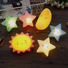 Cloud Smile Face Lamp LED Table Night Light Star Moon Sun Home Party Decoration 3D Desk Lamp Novelty Kids Bedroom Nursery Toy