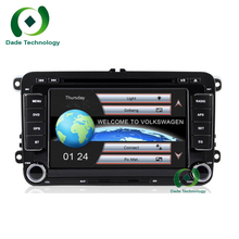 For VW/Volkswagen/Passat/POLO/GOLF/Skoda/Seat/Leon 2 Din 7 Inch Car DVD Player stereo audio With GPS Navigaiton IPOD FM RDS Maps